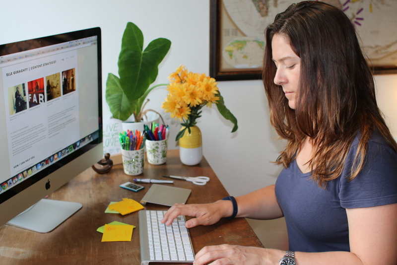 This is me, sitting at my desk writing a blog - some blogs posts are much easier than others :)