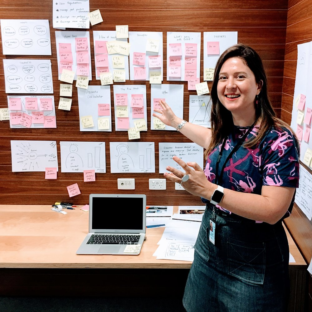 Creating the content strategy and IA at Qantas HQ