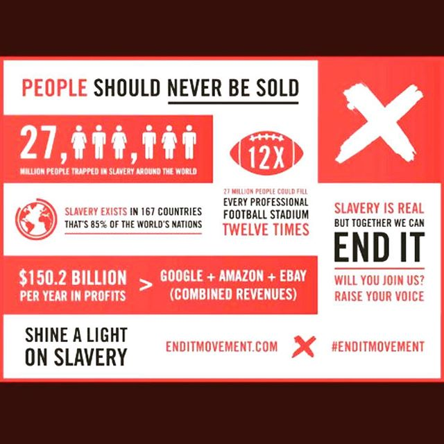 Join the movement ❌ #ENDIT #a21campaign @a21knoxville