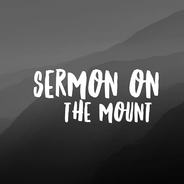 Join us tonight as we continue our series on the Sermon on the Mount. See you at 7pm!
