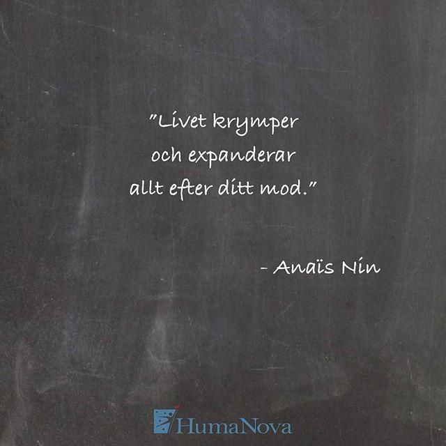 ❤️ #humanova #blidenduar #blidenduär #personligutveckling #anaisnin