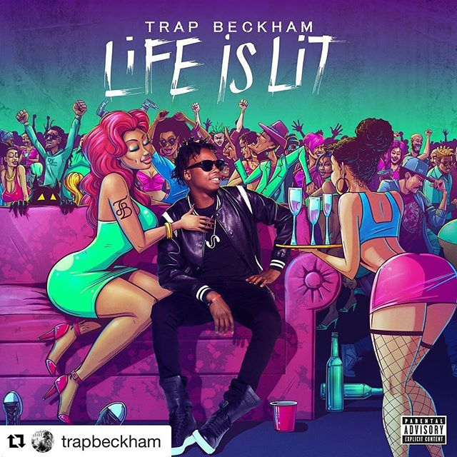 #ALERT🚨☎️#Repost @trapbeckham with @repostapp ・・・ I've been working my whole life for moments like this . I've been thru so much just to get here and I just wanna thank GOD 🙌🏾. ITS OFFICIALLY 7 DAYS UNTIL MY FIRST EP #LIFEISLIT DROPS & THIS IS THE OFFICIAL ARTWORK TO THE PROJECT!! FEEL FREE TO REPOST IT FOR YA BOY 💯 AYE @prettyricky_bdm ITS TIME TO SHOW THE WORLD 🚀 S/O TO EVERYONE TAGGED WHO HELPED ME PUT THIS THING TOGETHER! WITHOUT YALL IT WOULDNT HAVE BEEN POSSIBLE! LETS GET IT ! #LIFEISLITep 🚀🚀🚀