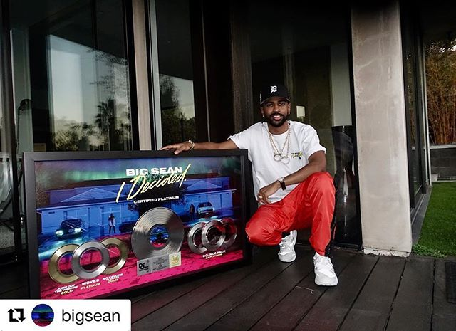 #Repost @bigsean with @repostapp ・・・ For the creatives, the dreamers I made this album for, I Decided is now certified platinum. The fans got me 4eva. Thank you  #DonLife GOOD Music/DEF JAM #BacktoBackPlatinumAlbums yeeeeeeee 🙏🏾 #FLARENATION