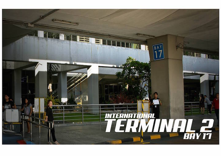 Pic 4. Terminal 3 - Bay 17 Waiting Area