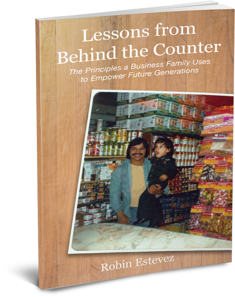 Behind The Counter - Robin Estevez
