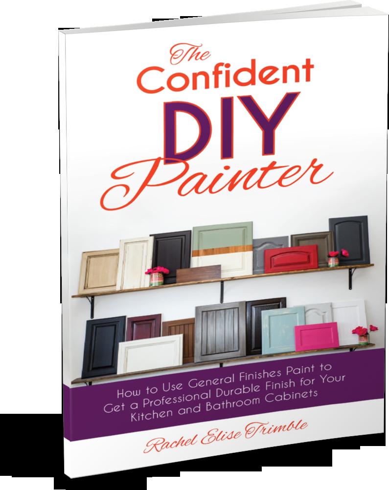 The Confident DIY Painter, Rachel Elise Trimble
