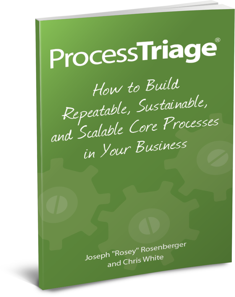 """Process Triage by Joseph """"Rosey"""" Rosenberger and Chris White"""