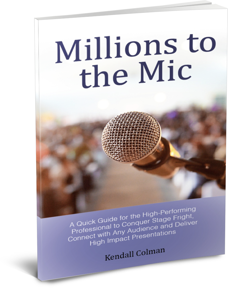 Millions to The Mic by Kendall Colman
