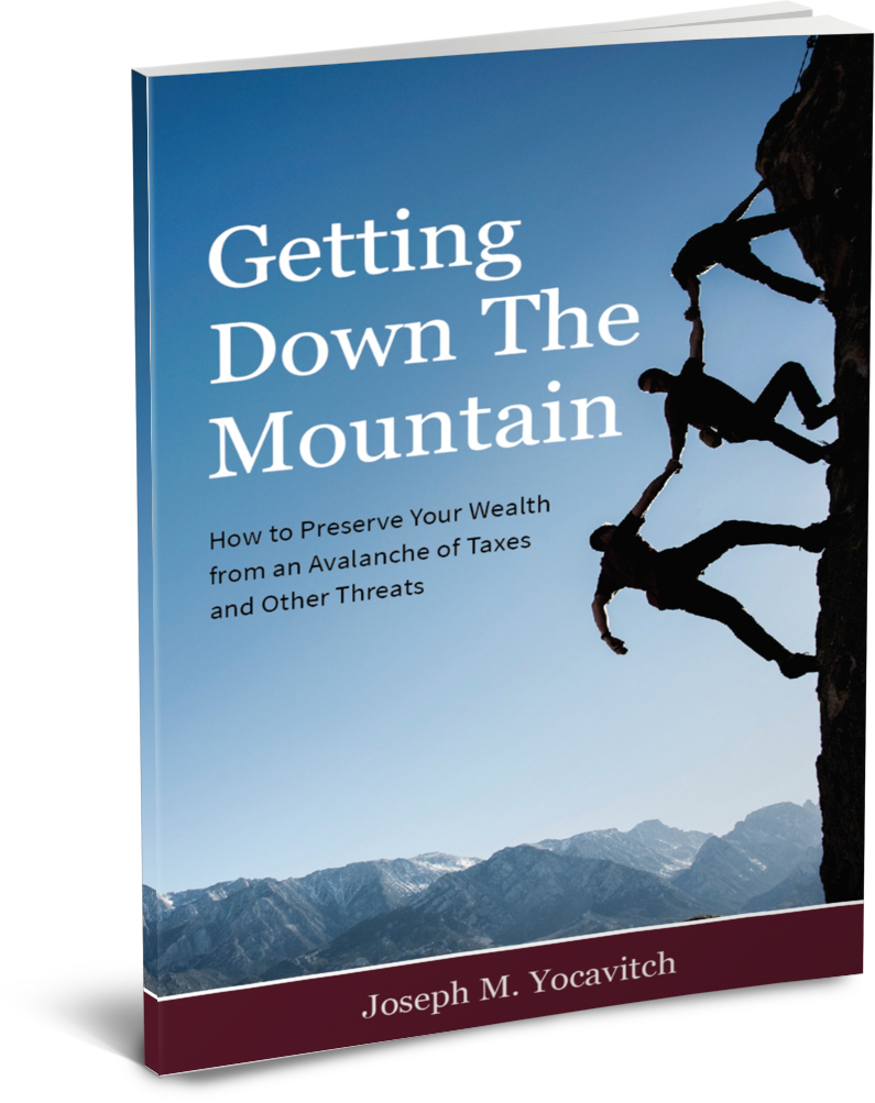 Getting Down The Mountain by Joe Yocavitch
