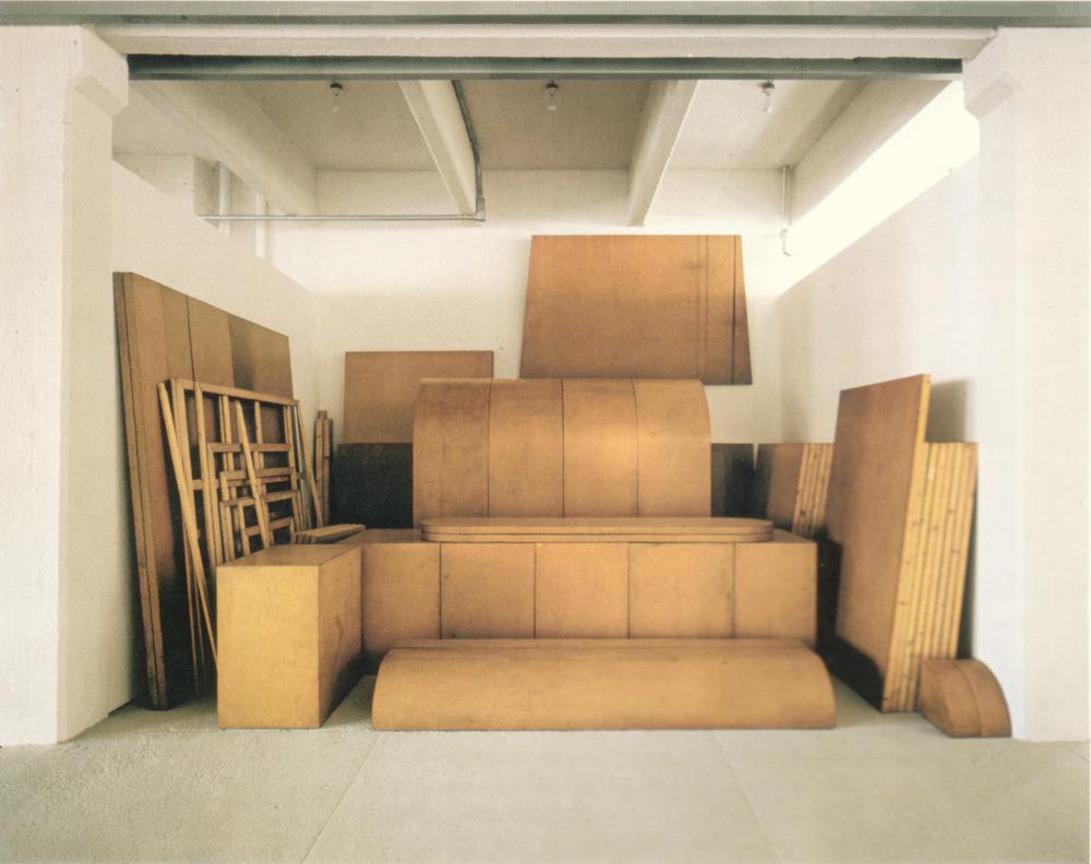 Raum 19, Imi Knoebel, 1968.