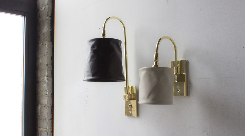 Series 01 Sconces (Small and Large),2016.