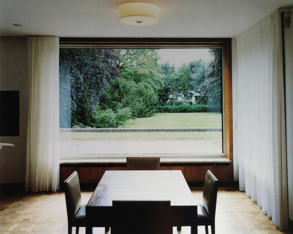 Esters House, Krefeld, Germany.  Mies van der Rohe, 1930.