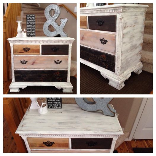 multi colored painted furniture. Rustic Multi Colored Wood Dresser - Painted Furniture Denver, Colorado R