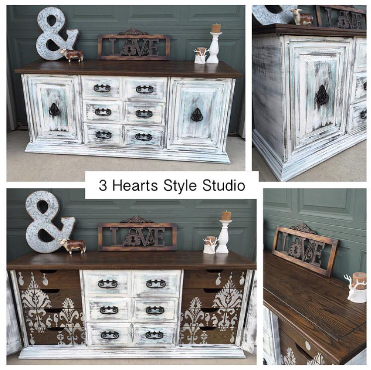 Rustic Farmhouse Dresser   Painted Furniture Collection Denver, Colorado