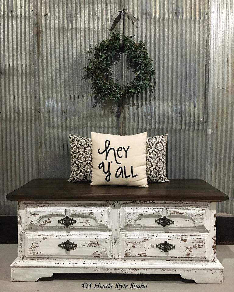 Genial Antique Hope Chest   Painted Furniture Denver, Colorado