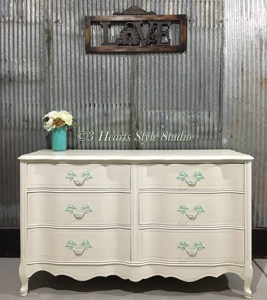 White Shabby Chic French Provincial Dresser   Painted Collection Denver,  Colorado