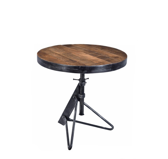 Furniture Store Denver, Colorado Industrial Farmhouse Side Table