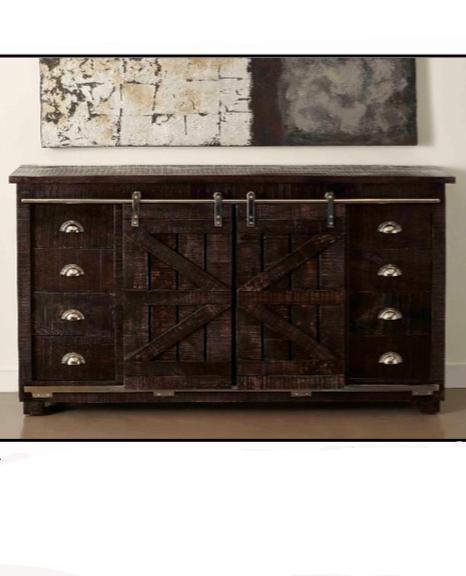 Awe Inspiring 3 Hearts Style Furniture Collections Rustic Rolling Barn Door Media Console Creativecarmelina Interior Chair Design Creativecarmelinacom