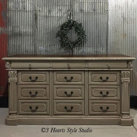 French Provincial Shabby Chic Dresser Denver, Colorado