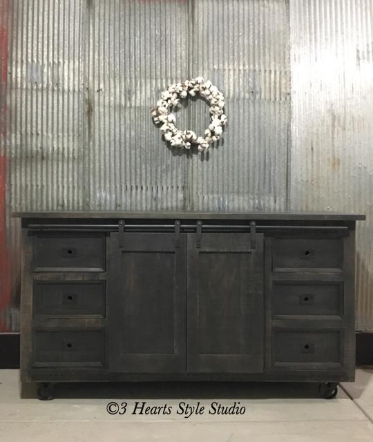 Rustic Industrial Farmhouse Furniture Denver Colorado