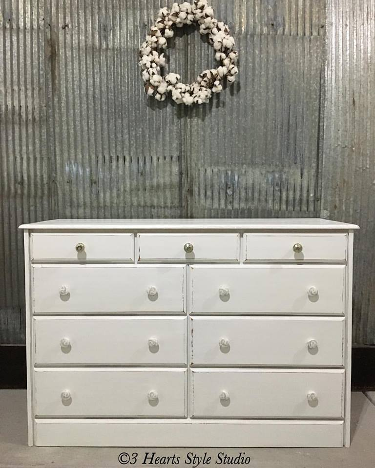 Custom client owned dresser
