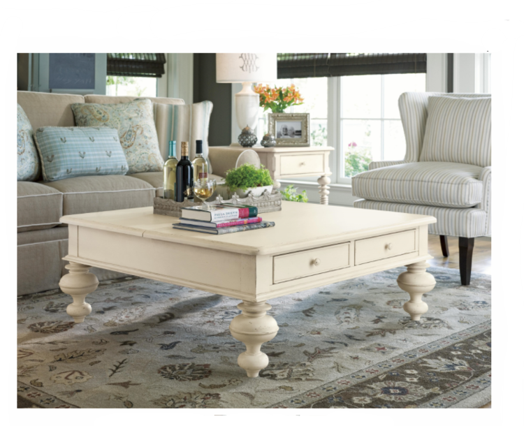 3 Hearts Style Furniture Collections Denver Colorado Linen Coffee Table