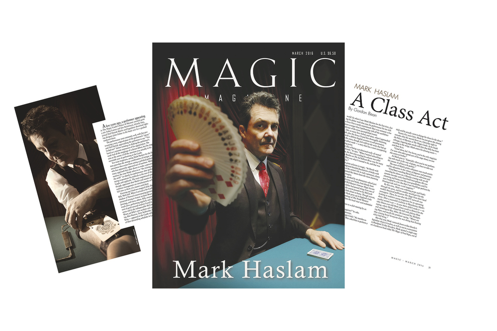 CLICK on the cover to read the article.© MAGIC Magazine 2016. Used with permission.