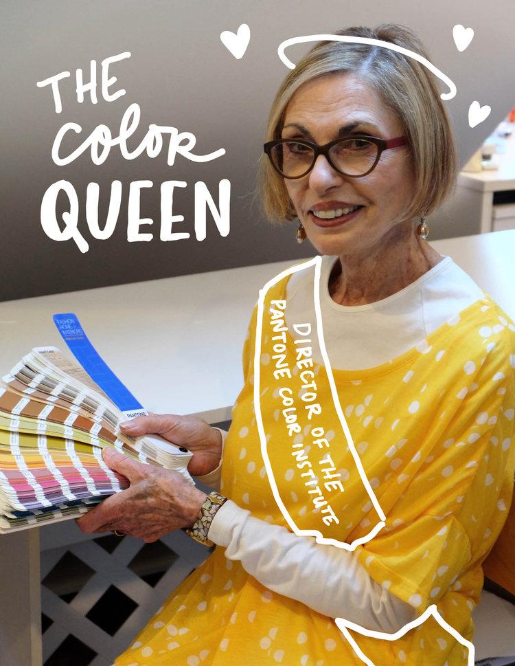 Leatrice Eiseman, Director of the Pantone Color Institute