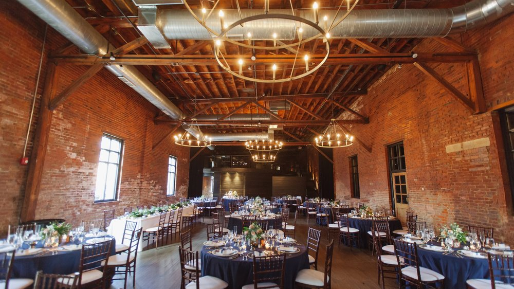 High Line Car House - Our exclusive venue located in the historic Brewery District.