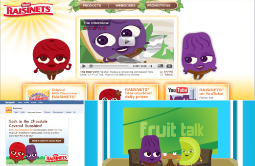 PRODUCED ANIMATED SERIES, SITE AND SOCIAL