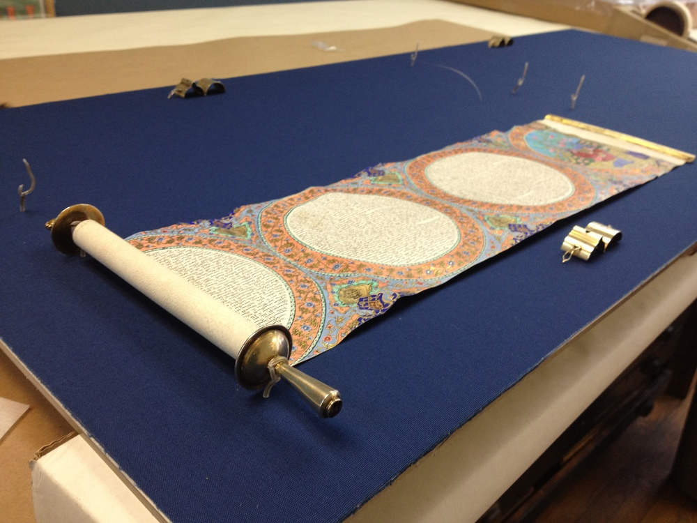 Scroll Mounting and Framing