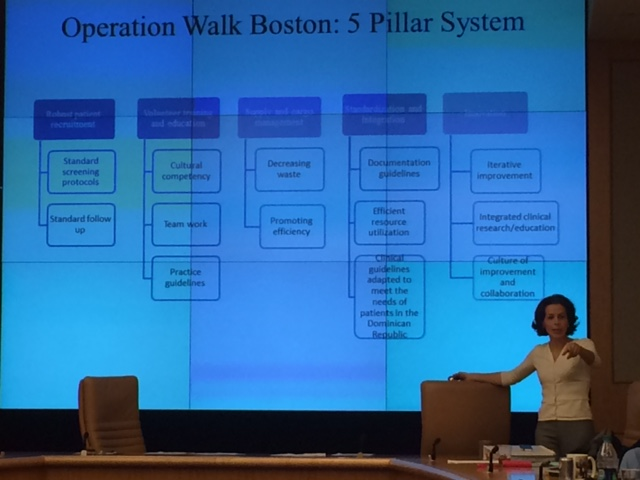 Roya Ghazinouri, DPT (Chief Operating Officer) explains the 5 Pillars that form the foundation of Operation Walk Boston.