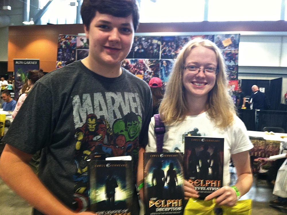 Some new Nashville readers with The Delphi Trilogy.