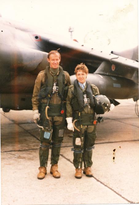 Pre-flight Harrier Jump Jet Photo Op!