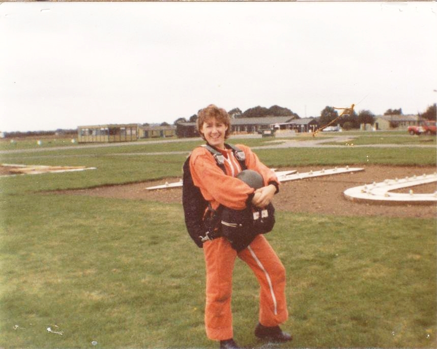 Another day, another aircraft and my first parachute jump.