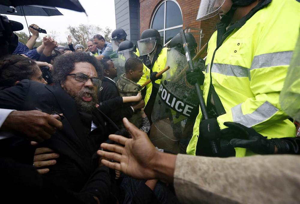 Cornel West Arrest Photo 1