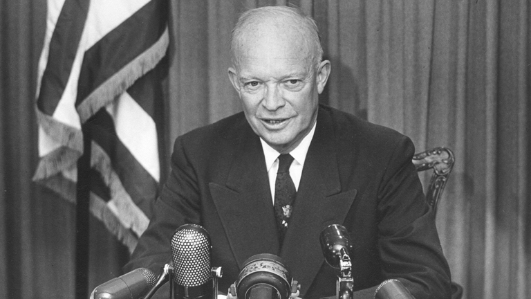 In 1957 President Dwight D. Eisenhower knew he had to act boldly. He placed the Arkansas National Guard under federal control and sent 1,000 U.S. Army paratroopers from the 101st Airborne Division to assist them in restoring order in Little Rock as a result of  Arkansas Gov. Orval Faubus's refusal to integrate the Little Rock public school system and white rage riots broke out.  Army paratroopers from the 101st Airborne Division were sent to assist them in restoring order in Little Rock. The daring tactic worked and the African American students were enrolled without further violent disturbances.