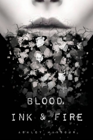 The e-ARC Cover for Blood, Ink & Fire, designed by Olivia Robinson.