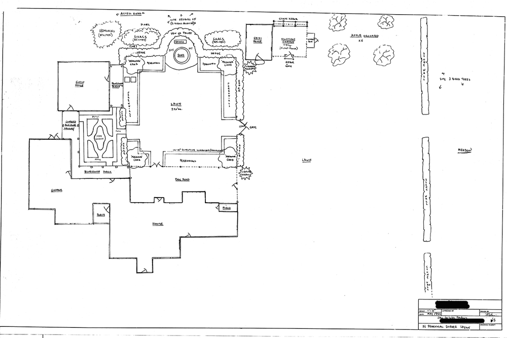 Blum Residence Master Plan John de Lellis Gardens