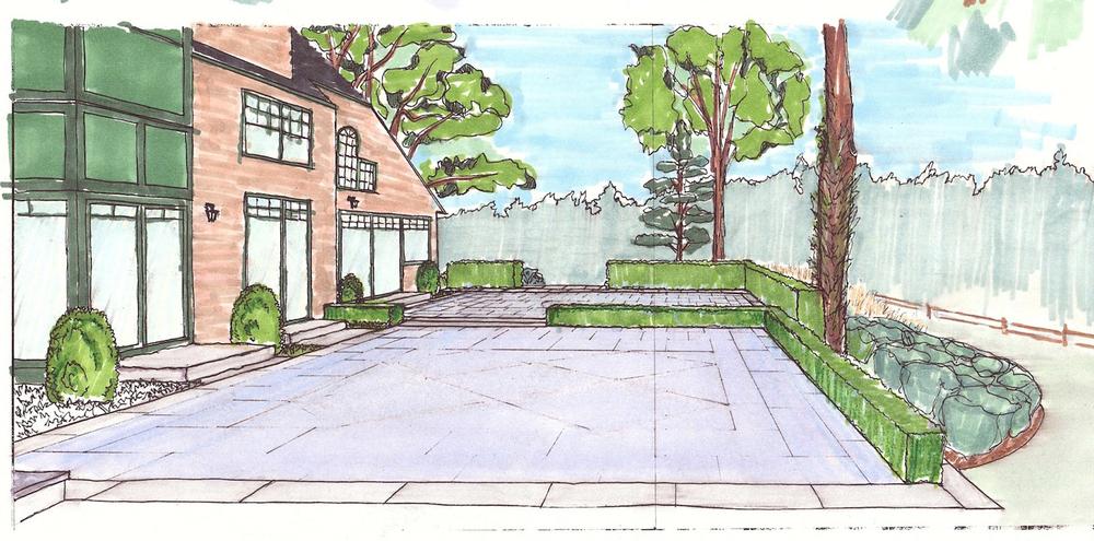 5_Cedar Knoll Back Terrace Sketch Colored.jpg