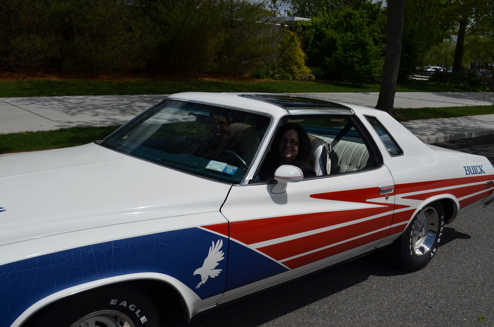 Marty & Grace Jablonski: 1975 Century Pace Car