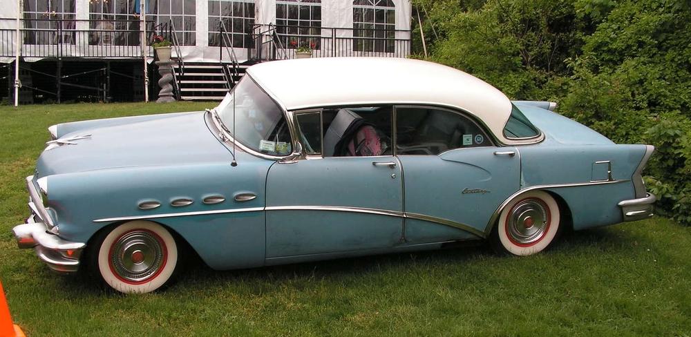 Carl Ocampo: 1956 Century Riviera Sedan