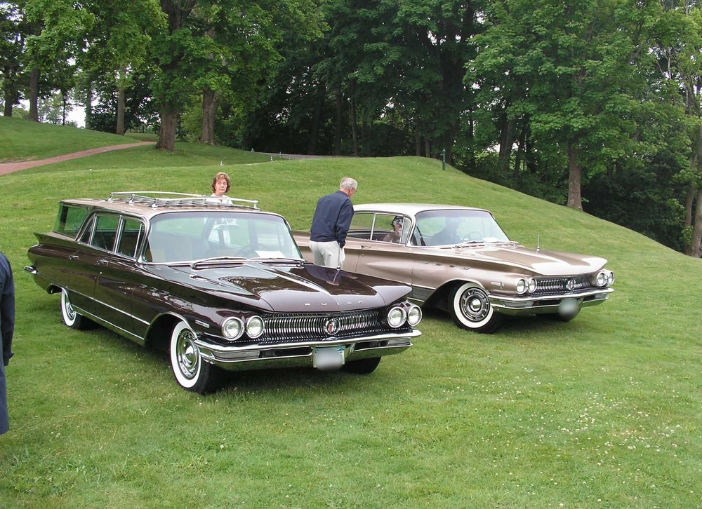 Rein Randmae: 1960 Invicta Estate Wagon & 1960 Electra 225 Riviera Sedan