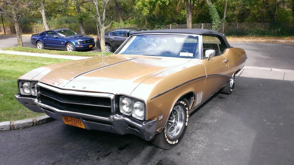 Larry & Vicki Alssid:  1969 Skylark Custom Convertible