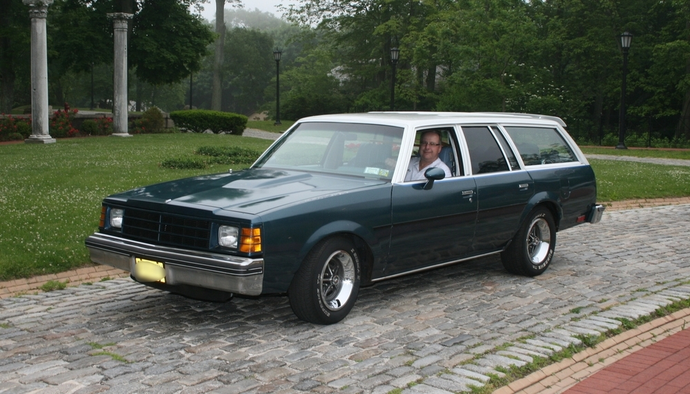 Marty & Grace Jablonski: 1978 Century Custom Station Wagon