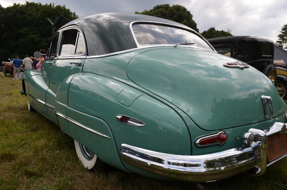 David & Jo Ann Millard: 1948 Super 4Dr. Sedan