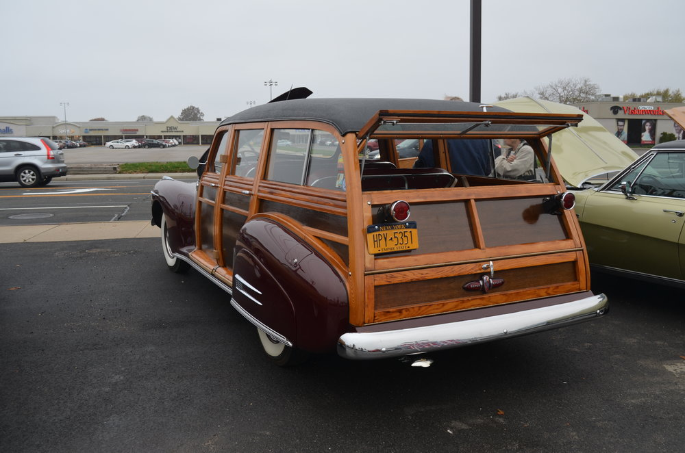 David & Jo Ann Millard: 1941 Special 4 Dr. Estate Wagon