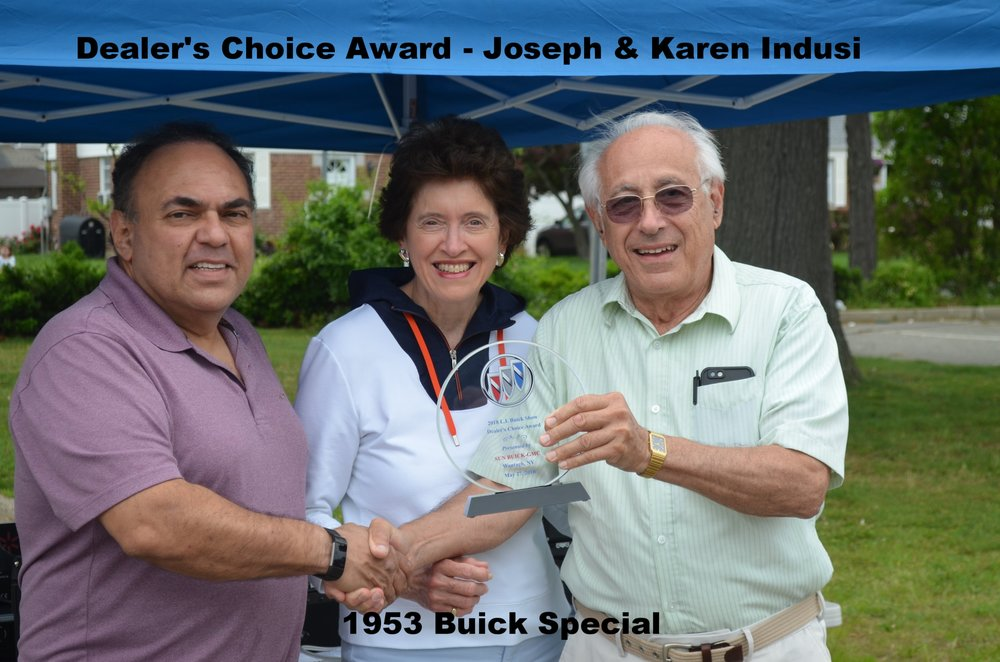 Dealer's Choice Award-Joseph & Karen Indusi - 1953 Special