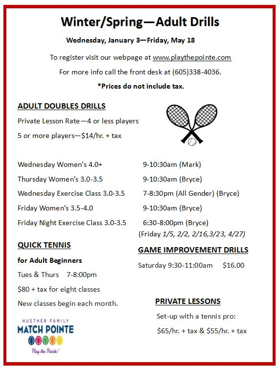 2018 Winter Tennis Adult Drills.JPG