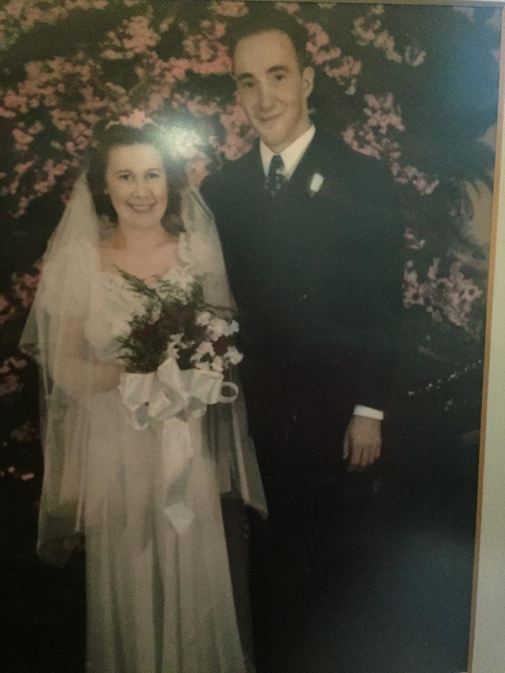 My grandparents wedding